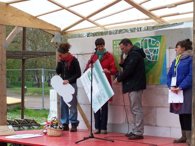 Die SGÖD unterstützt die Kinderstadt mit 5000 EUR! Davon werden u.a. Fahrzeuge für den Fuhrpark angeschafft.