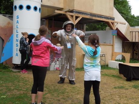 Astronautentraining für Anfänger